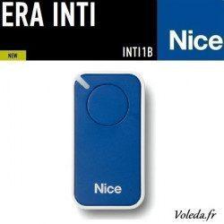 Telecommande - Emetteur Nice Era Inti 1 canal - Bleu