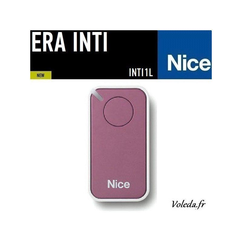 Telecommande - Emetteur Nice Era Inti 1 canal - Lilas