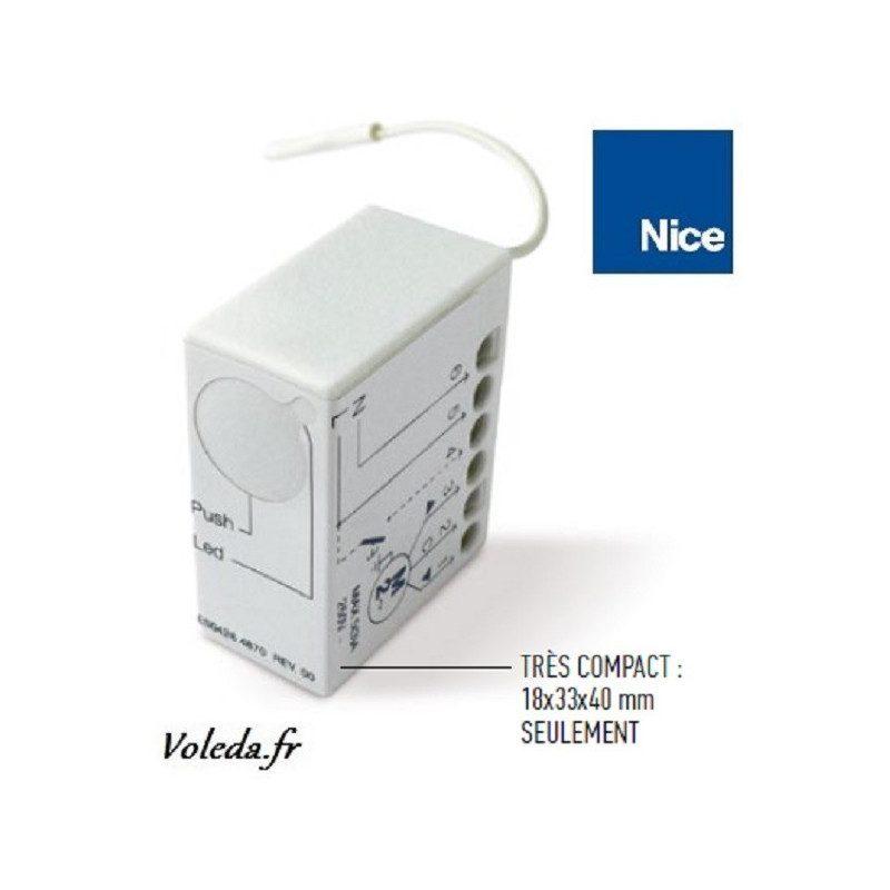 Recepteur miniaturisé Alarme Nice HSTT2L