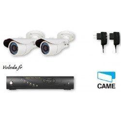 Kit Videosurveillance Came XKIT2308B Analogique