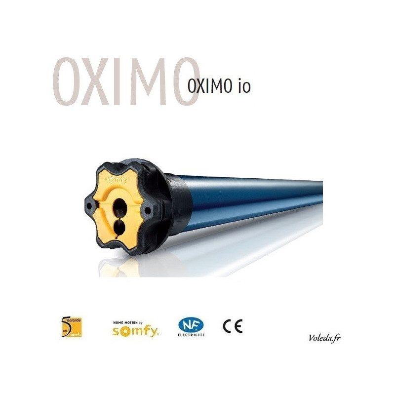 Moteur Somfy Oximo 50 TH io 30 newtons 30/17 - tete etroite