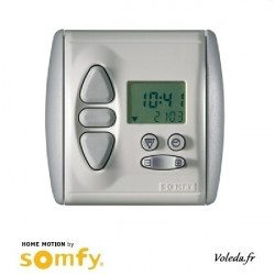 Horloge filaire Somfy Chronis Uno