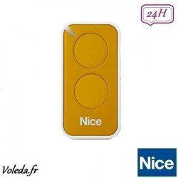 Telecommande - Emetteur Nice Era Inti 2 canaux - Jaune
