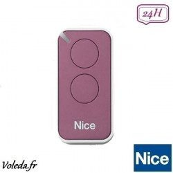 Telecommande - Emetteur Nice Era Inti 2 canaux - Lilas