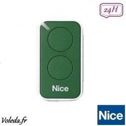 Telecommande - Emetteur Nice Era Inti 2 canaux - Vert