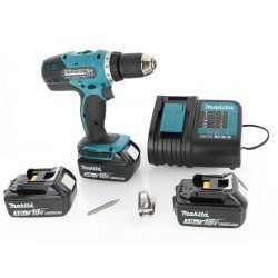 Perceuse visseuse Makita 18V Li-Ion 3 Ah - Makita DDF453SFE3