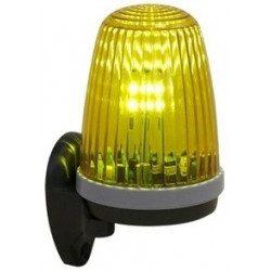 feu de signalisation orange simu clignotant 230v 24v. Black Bedroom Furniture Sets. Home Design Ideas