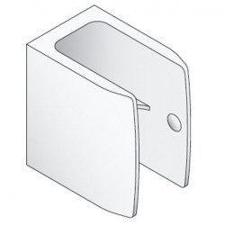 Clip de manivelle blanc - Volet roulant