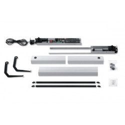 Kit motorisation volet battant Somfy Yslo Flex RTS 1 Vantail - Carter Marron
