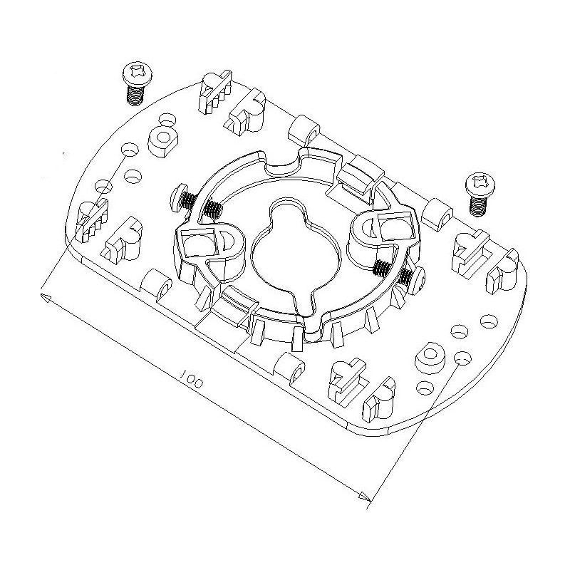 Support moteur volet roulant Deprat Electronique 30 newtons
