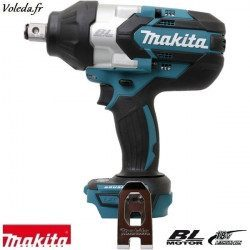Boulonneuse à chocs Makita 18 V Li-Ion - Makita DTW1001Z
