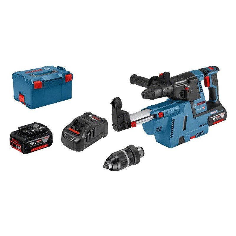 Perforateur Bosch GBH 18V-26F sans fil i-BOXX 68 accessoires