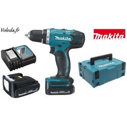 Perceuse visseuse Makita 14,4V Li-Ion 1,5 Ah - Makita DDF343RYJ