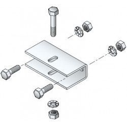 Etrier Simu support axe bobine diametre 20
