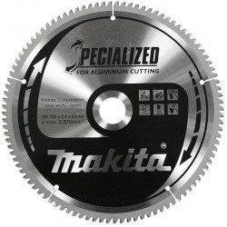 Lame carbure Makita 260 pour aluminium 80 dents