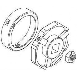 Jeu d'adaptation Simu Octo 102 mm pour moteur T8 -T9