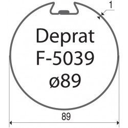 Bagues moteur volet roulant Simu-Somfy LT60 - T6 - Deprat 89