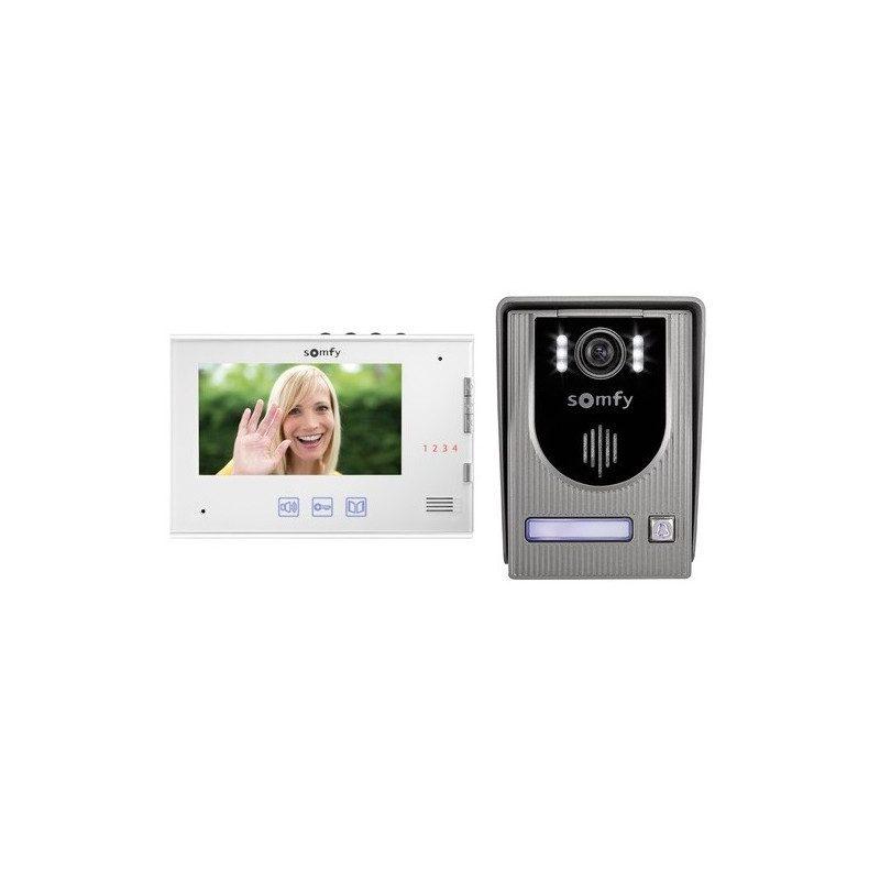 visiophone portier video came et somfy. Black Bedroom Furniture Sets. Home Design Ideas