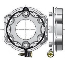 Support moteur Somfy universel - Anneau verrouillable