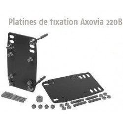 Platines de fixation Somfy Axovia 220b