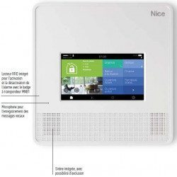 Centrale de commande alarme MyNice 7000 Touch