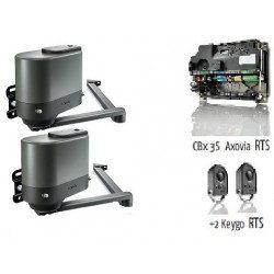 Axovia Multipro 3s rts Motorisation Somfy portail battant pack standart rts