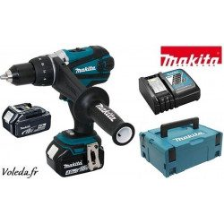 Perceuse visseuse Makita 18V Li-Ion 4 Ah - Makita DDF458RMJ