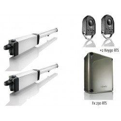 Ixengo s 3s rts - Moteur Somfy portail battant pack standart rts 230 V