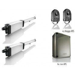 Ixengo L 3s rts - Moteur Somfy portail battant Pack standart rts 230 V