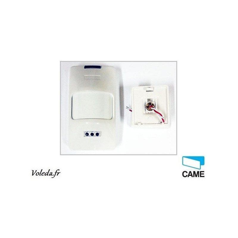 Détecteur volumétrique sans fil Came 001SIR215WL - Alarme Came