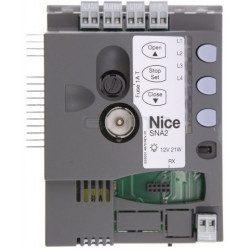 Logique de commande Nice SNA2 pour motorisation SpinbusKit