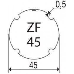Bagues moteur volet roulant Elero Revoline S - ZF 45