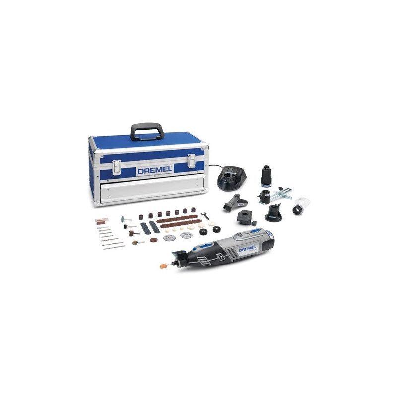 Outil multifonctions Dremel 8220 sans fil - Coffret 65 accessoires