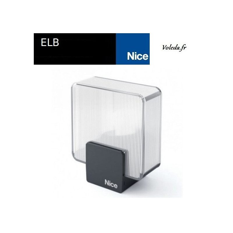 Lampe Nice ELB signalisation clignotante
