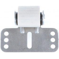 Galet anti-flexion aluminium pour tablier de volet roulant