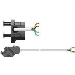 Cable moteur Somfy filaire csi 50 60 VVF Blanc 2.5 m