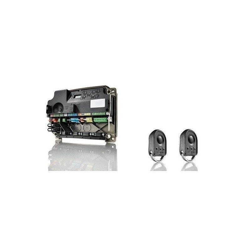 Somfy cbx 3s Axovia rts armoire de commande  2 telecommandes somfy Keygo rts