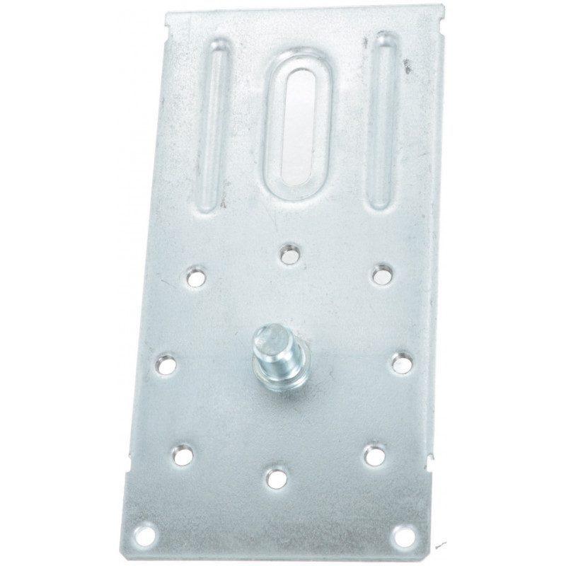 Support plaque 170x84 avec pion 12 mm