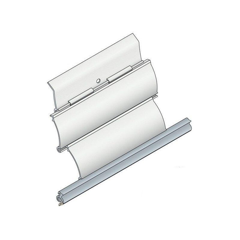 Verrou VAR tablier volet roulant 3 elements - Tube Octo 40