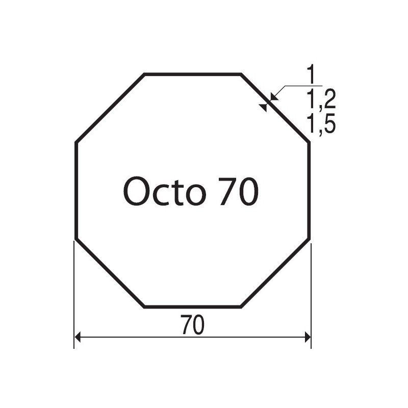 Bagues moteur volet roulant Elero Type 9 - Octogonal 70