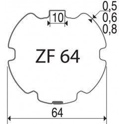 Bagues moteur volet roulant Elero Type 9 - ZF64