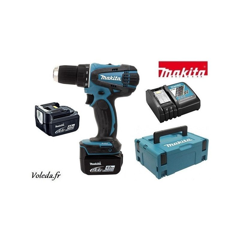 Perceuse visseuse Makita 14,4V Li-Ion 4 Ah - Makita DDF446RMJ