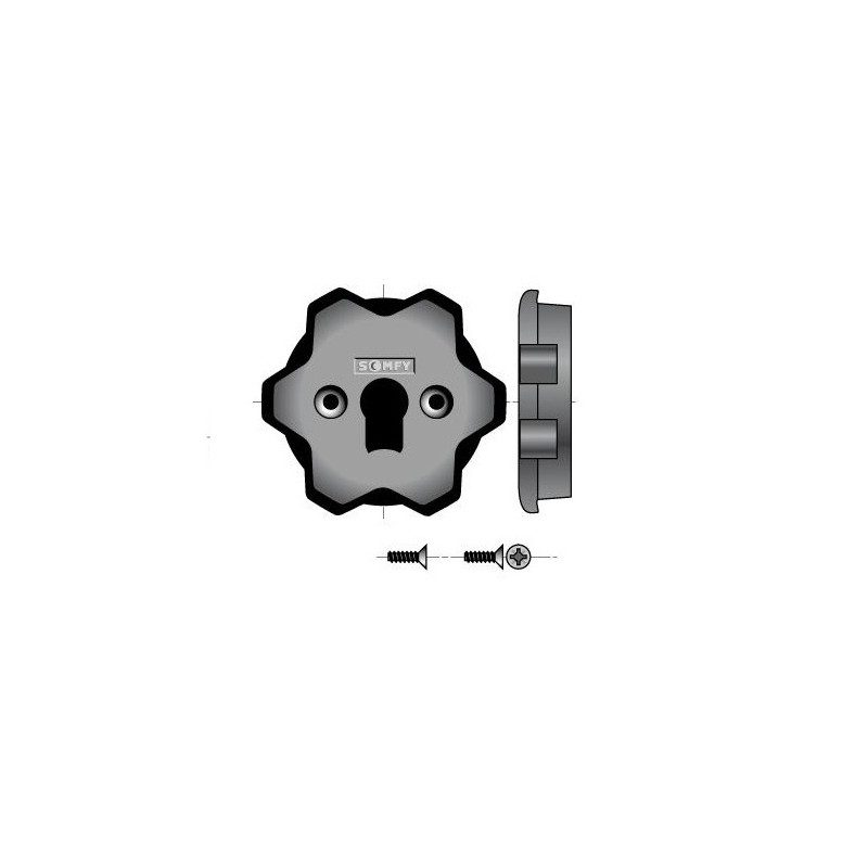 Support interface moteur Somfy Ls 40-lt50