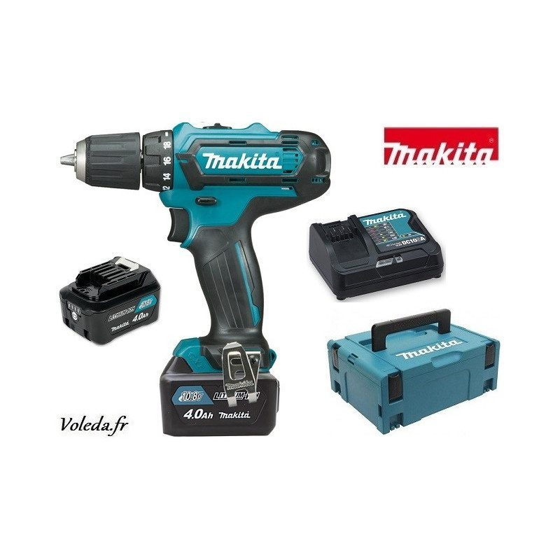 Perceuse visseuse Makita 10,8V Li-Ion 4 Ah - Makita DF331DSMJ