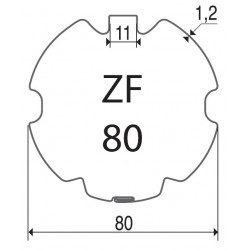 Bagues moteur volet roulant Cherubini ZF 80