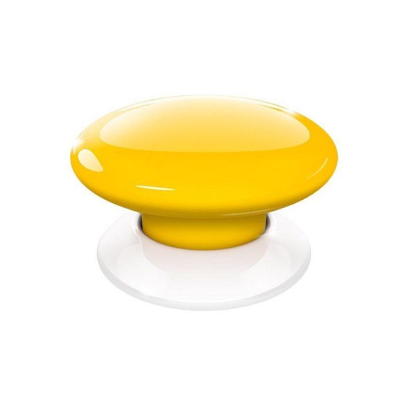 Fibaro the button - Emetteur Z-Wave - Jaune