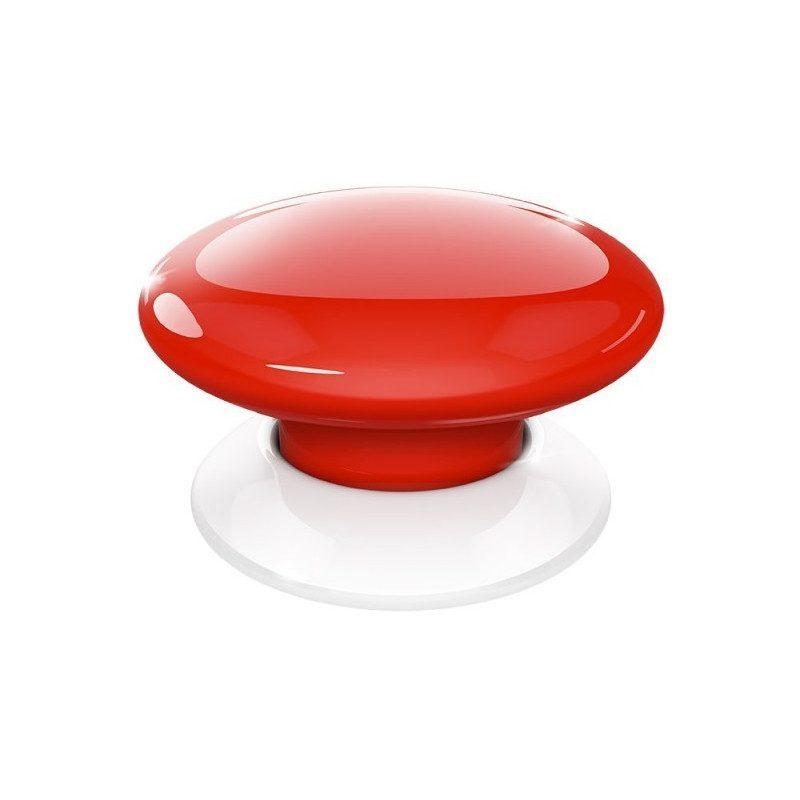 Fibaro the button - Emetteur Z-Wave - Rouge