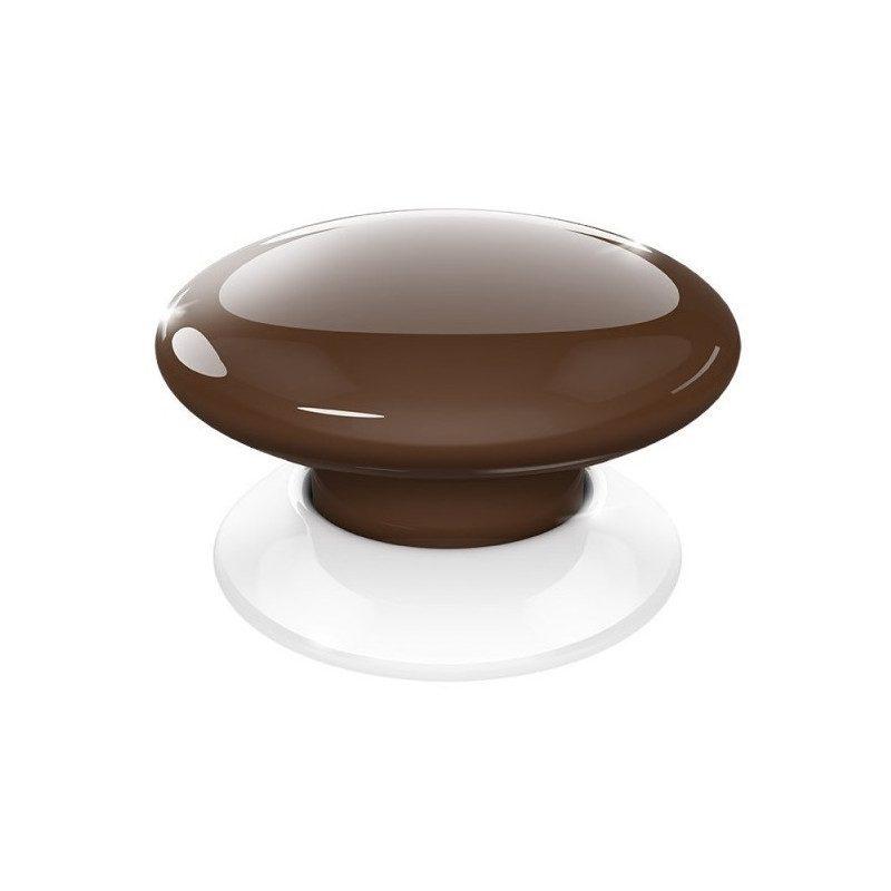 Fibaro the button - Emetteur Z-Wave - Marron