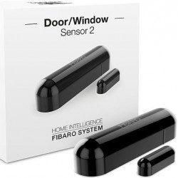 Fibaro door window sensor 2 - Detecteur d'ouverture Z-wave - Noir