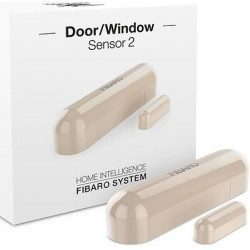 Fibaro door window sensor 2 - Detecteur d'ouverture Z-wave - Beige